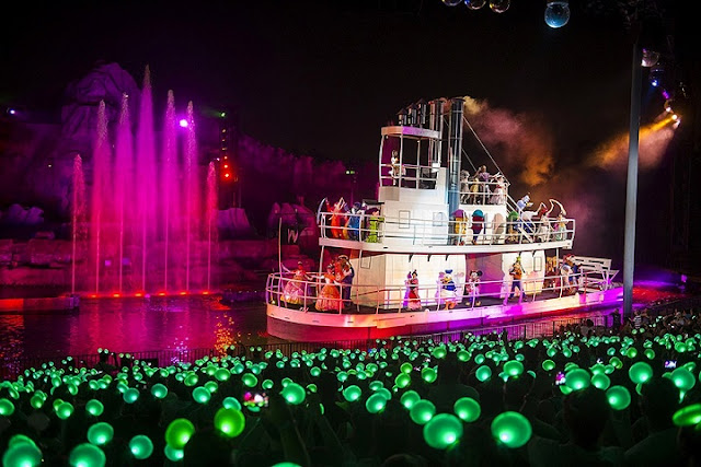 Show Fantasmic no Disney's Hollywood Studios em Orlando