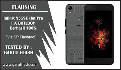 Firmware dan Cara Flash Infinix X559C Hot Pro Via SP Flashtool 100%