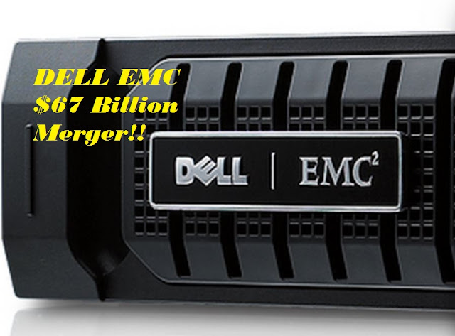 Dell EMC agree to $67 billion merger