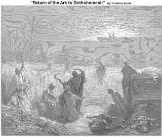 Return of the Ark to Bethshemesh by Gustave Dore