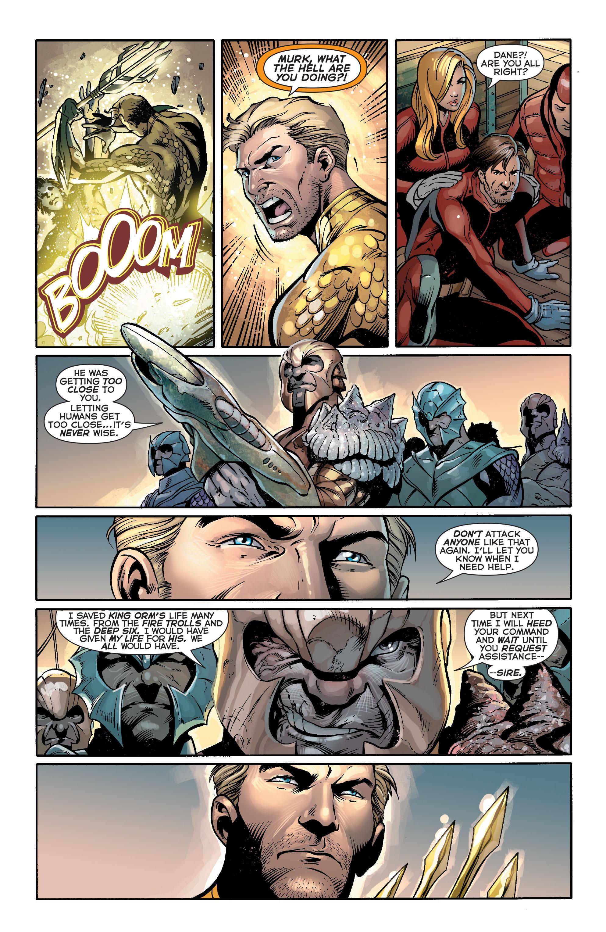Read online Aquaman (2011) comic -  Issue #17 - 10