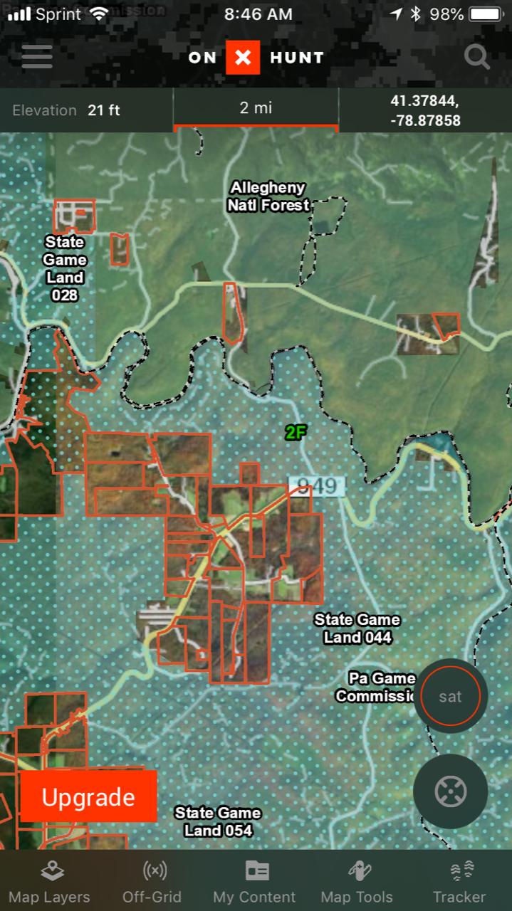 NPO Gear Review OnX Hunt App Natural Pursuit Outdoors Blog - Onx map app