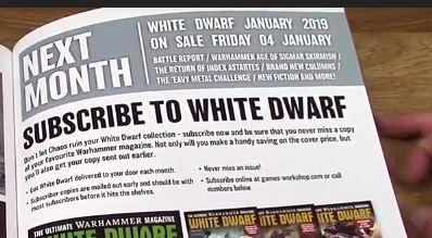 White Dwarf diciembre 2018