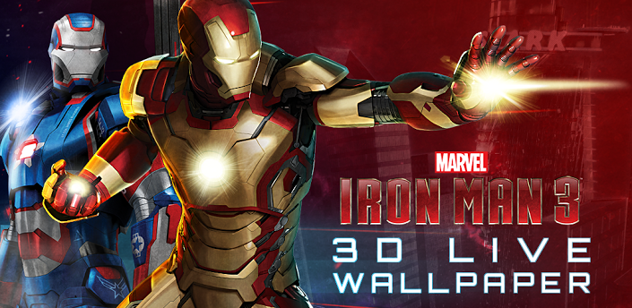 Iron Man 3 Live Wallpaper v1.24.apk - Free Software