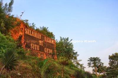 Selamat datang di Situ Gede-Tasikmalaya