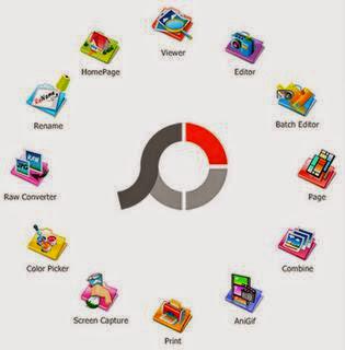 تحميل برنامج تقطيع قص لصق الصور باحتراف للكمبيوتر Photoscape Download