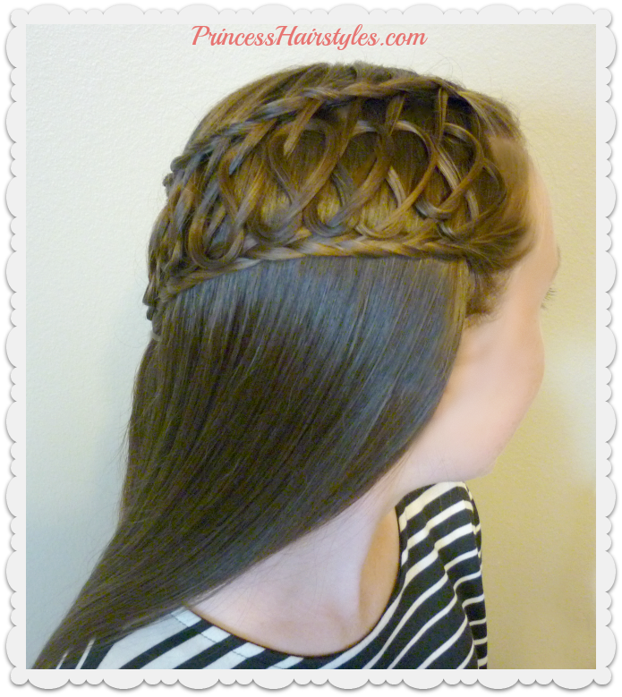 Hairstyles For Girls Princess Hairstyles Squiggle Knot Braid