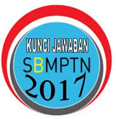 KUNCI JAWABAN SOAL SBMPTN 2017 LENGKAP