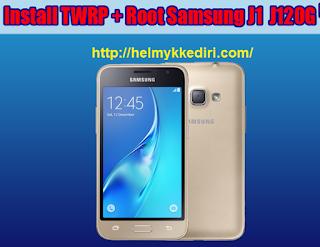 Pasang TWRP Samsung J1-6