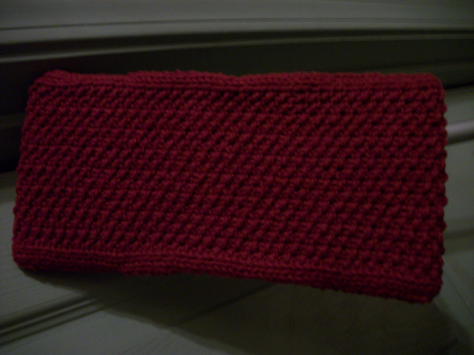Scblog Swiffer Pad Cover Knit Pattern