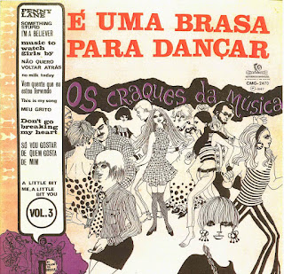 MAESTRO ZÉZINHO & OS CRAQUES DA MÚSICA - É UMA BRASA PARA DANÇAR (VOL.3) (1967)