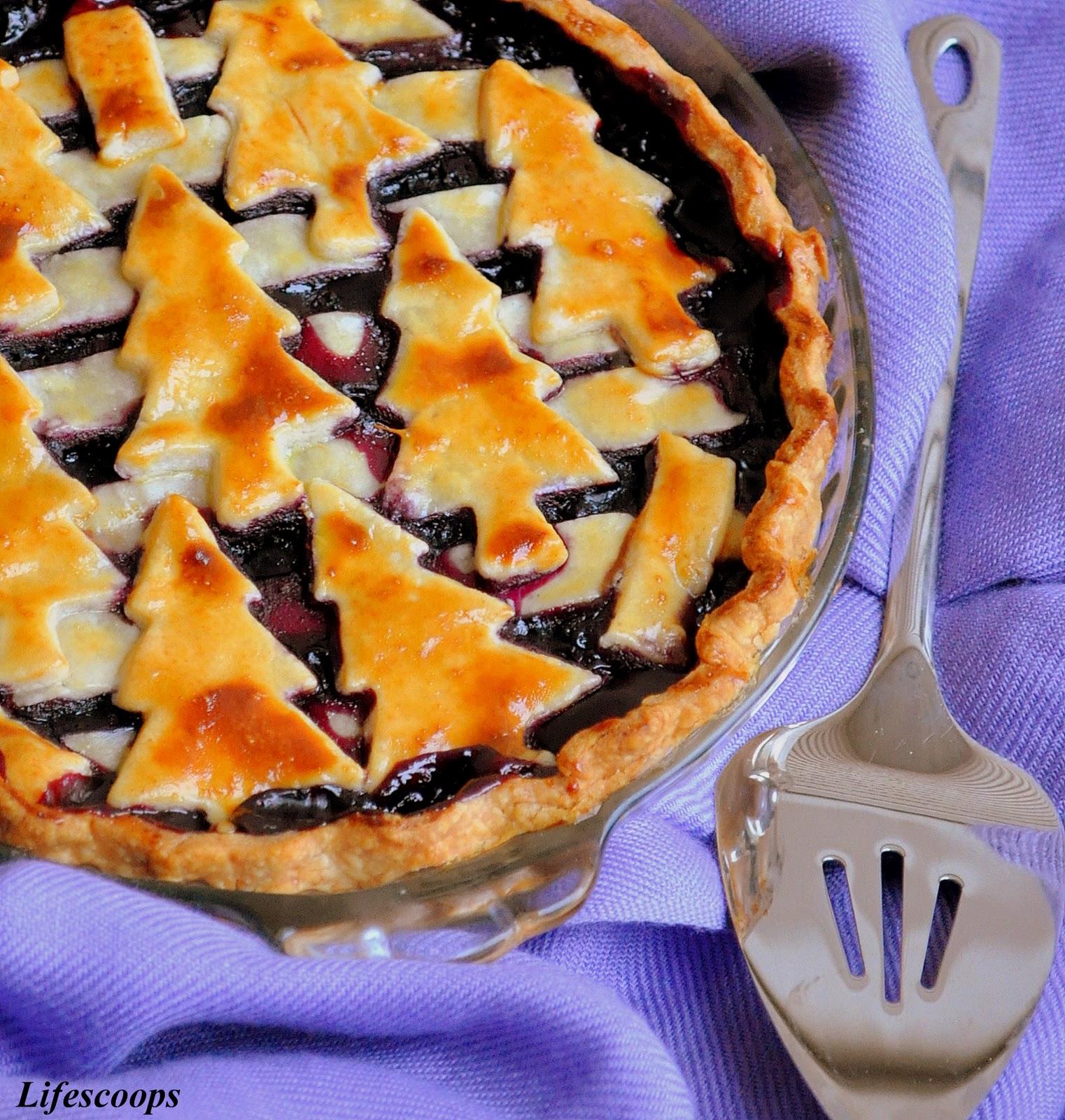 Life Scoops: Blueberry Pie
