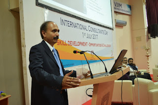 "The Institute of Management Consultants of India organised Seminar on ""Skill Development in India"