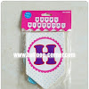 Bunting Flag Segilima HAPPY BIRTHDAY Warna Putih