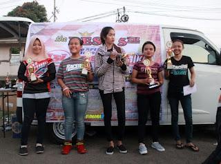 """Kelas Wanita """"Sejukan"""" Suasana Latber Drag Bike Semarang 10 Mei 2018"""