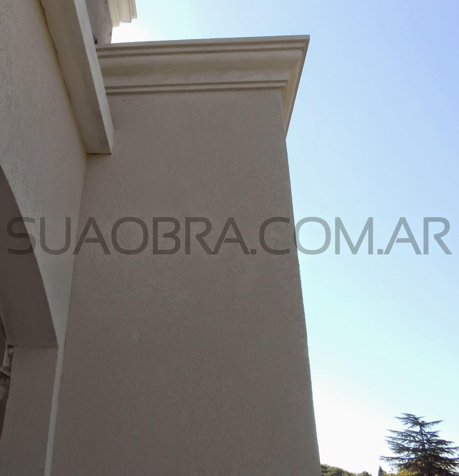 Revestimiento de paredes exteriores tarquini aplicacion for Colores beige para paredes exteriores