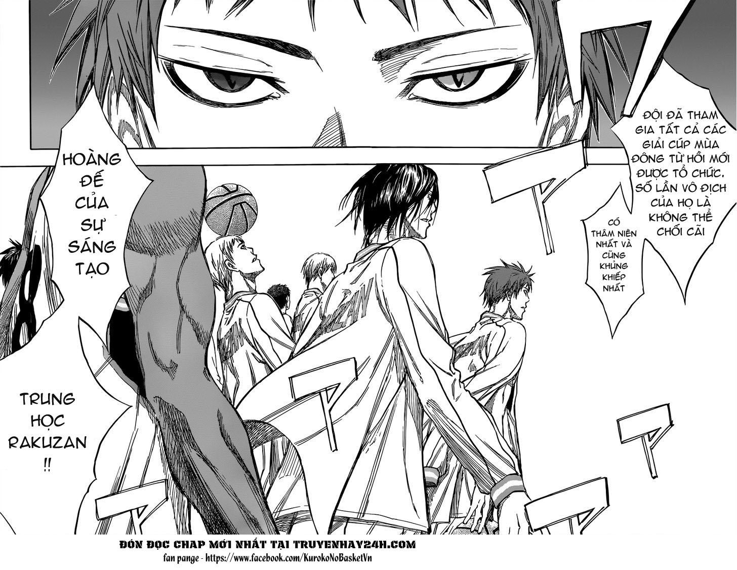 Kuroko No Basket chap 175 trang 5