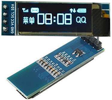 OLED I2C Display Using Microchip PIC Microcontroller