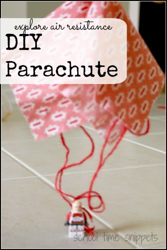 make your own diy parachute