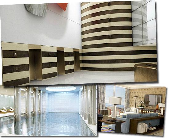 Edifício Tour Odéon em Mônaco - Apartamento mais caro do mundo - Interiores
