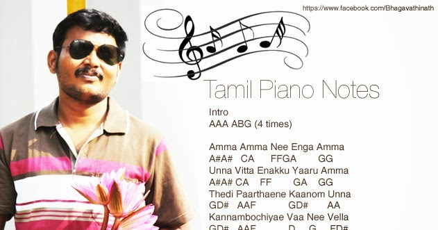 Tamil Piano Notes: Amma Amma - The Loss of Raghuvaran (VIP)
