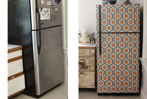 Restyling del frigo arredamento facile - Carta per coprire mobili ...
