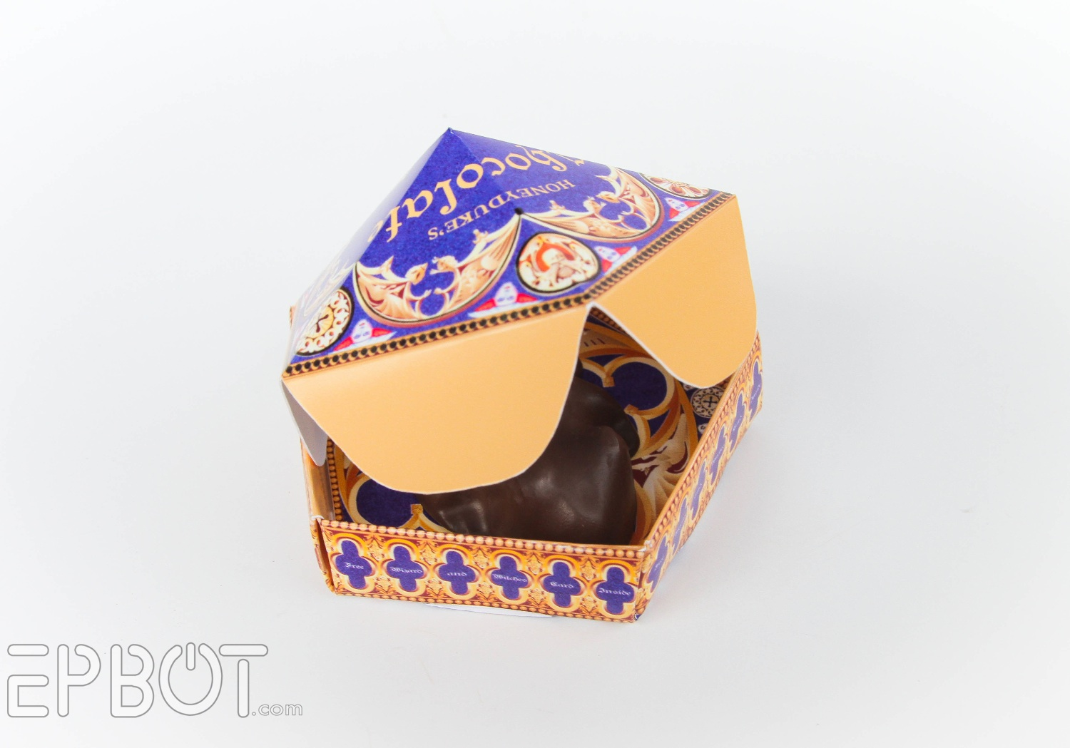 Universal Template Chocolate Frogs Cards