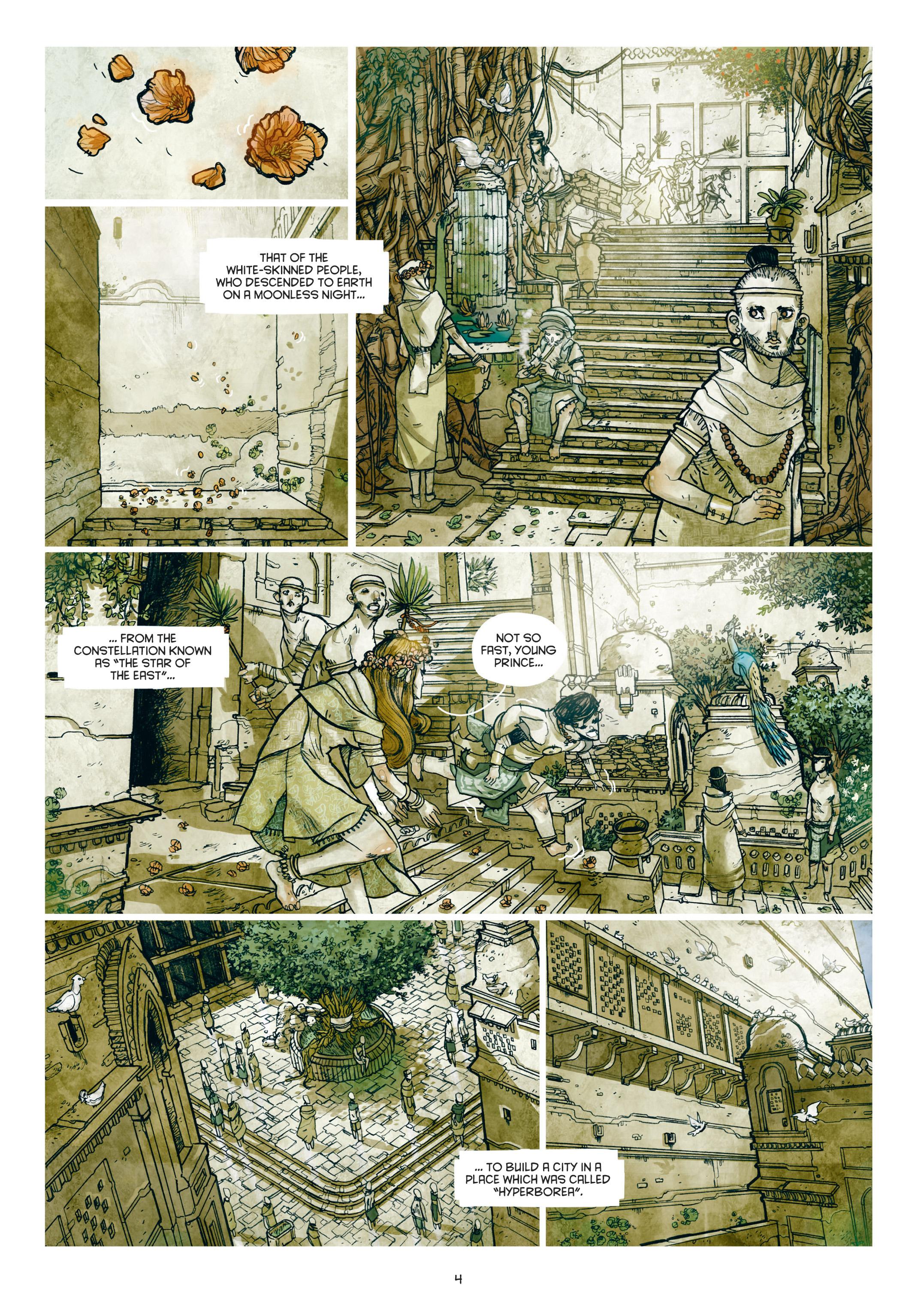 Read online Adrastée comic -  Issue #1 - 5