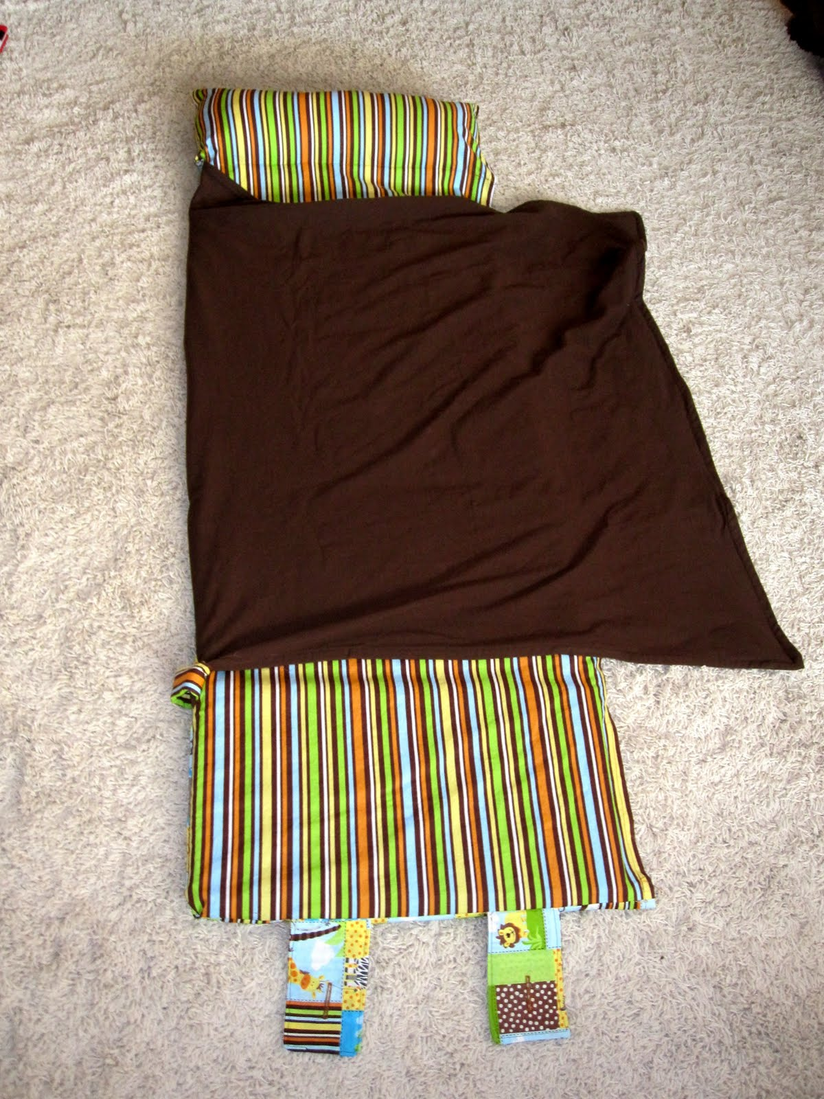Lifes Sweeter with Chocolate Nap Mat Tutorial