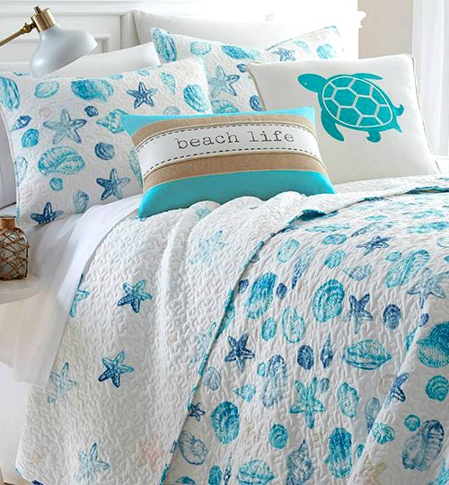Beach and Sea Shell Quilts