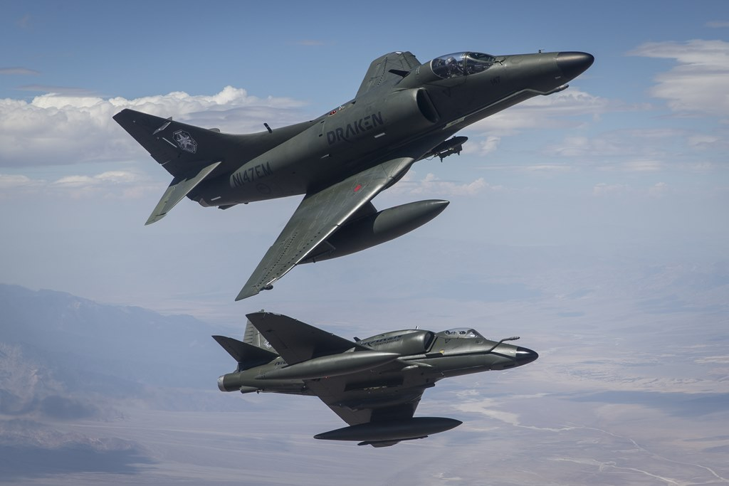 Draken Expands Tactical Air Services To Luke And Hill Force Bases