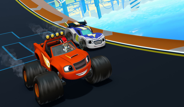A Geek Daddy Real Life Race Car Drivers Return To Blaze The