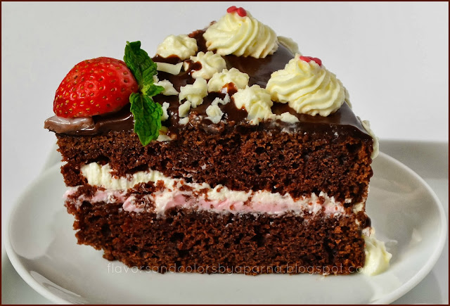 Eggless Vanilla Cake Recipe Joy Of Baking: Flavors And Colors: Eggless Chocolate Cake With Chocolate