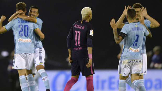 [Video] Cuplikan Gol Celta Vigo 4-3 Barcelona (Liga Spanyol)
