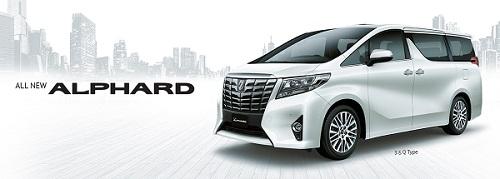 Harga Toyota Alphard di Surabaya