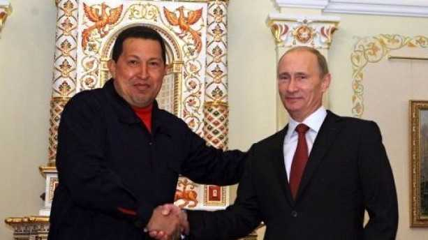 hugo chavez putin russia