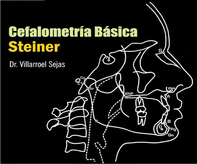 CEFALOMETRÍA BÁSICA: Análisis de Steiner - Dr. Villarroel Sejas