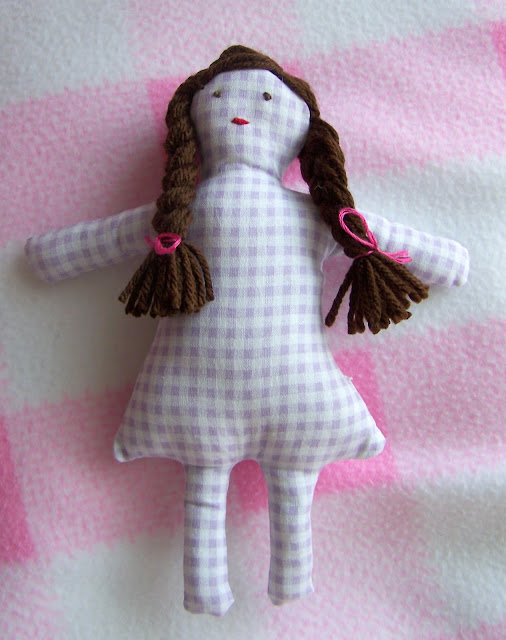 A Sweet Gingham Doll