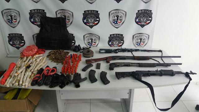 Assaltantes de bancos serão apresentados nesta sexta-feira na Secretaria de Segurança Pública do Maranhão