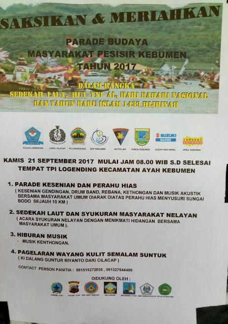 Besok Pagi, Sedekah Laut dan Parade Budaya di Logending