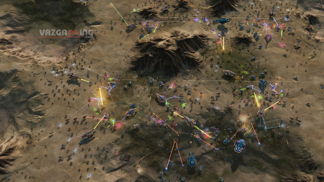 Ashes of the Singularity Gameplay vazgaming 3
