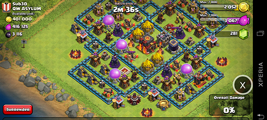 Xmodgames Clash Of Clans Attack Simulation