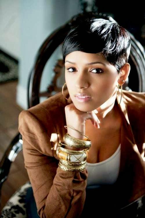 Awe Inspiring Trendy New Short Haircuts Short Black Hair Styles Short Hairstyles For Black Women Fulllsitofus