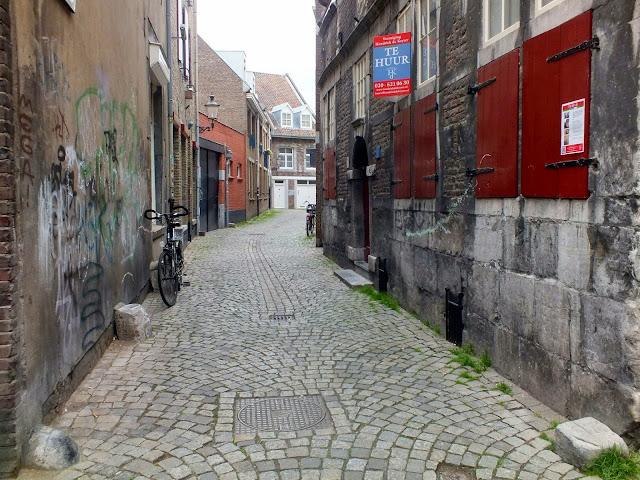 Callejón típico de Maastricht