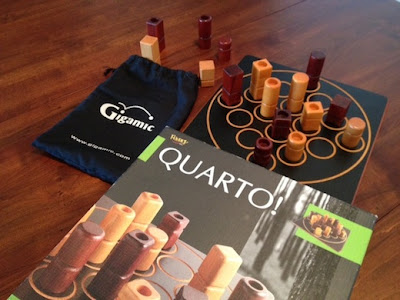 Quarto abstract board game