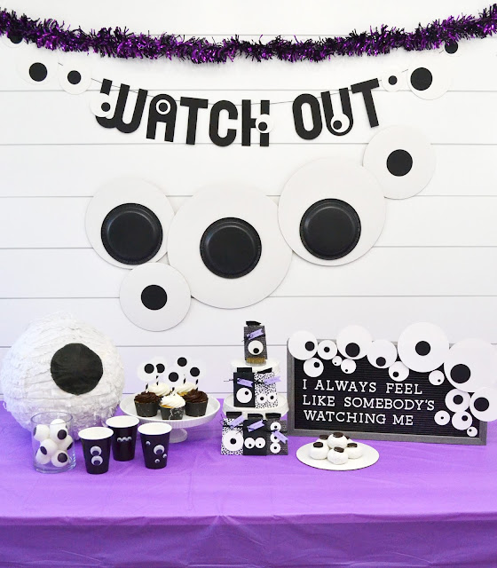 Googly Eye Halloween Party Ideas by Aly Dosdall