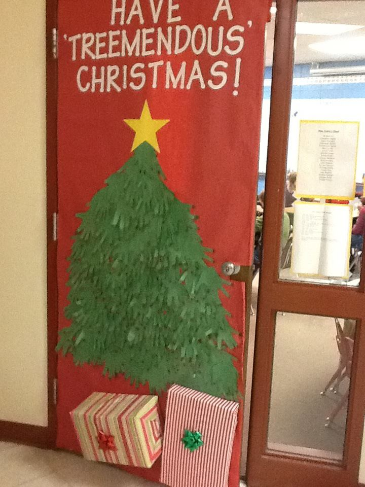 Pass It On Christmas Door Decor Better Late Than Never