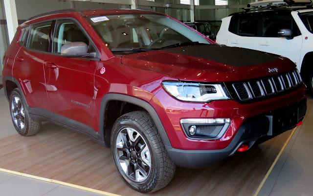 Jeep Compass surpreende com o número de vendas