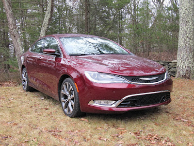 Chrysler 200 Sedan red color Hd Image