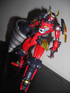 Super Robot Chogokin Gurren Lagann Drill Set of Manliness 08